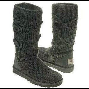 Uggs knit boot